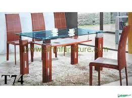Image Result For Dining Table Designs In Wood And Glass 6 Seater