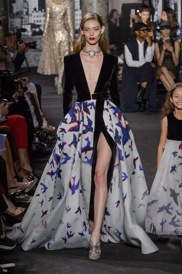 Fashion Week Automne/Hiver 2016 Haute couture Paris - Défilé Elie Saab