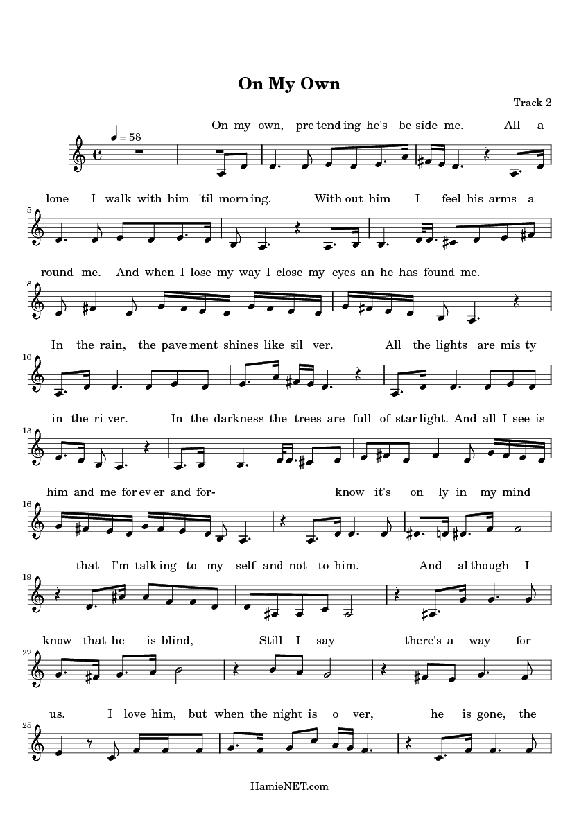A Dream Is A Wish Your Heart Makes Flute Sheet Music On My Own Sheet Music On My Own Score Hamienet Com Sheet Music Clarinet Sheet Music Ukulele Music