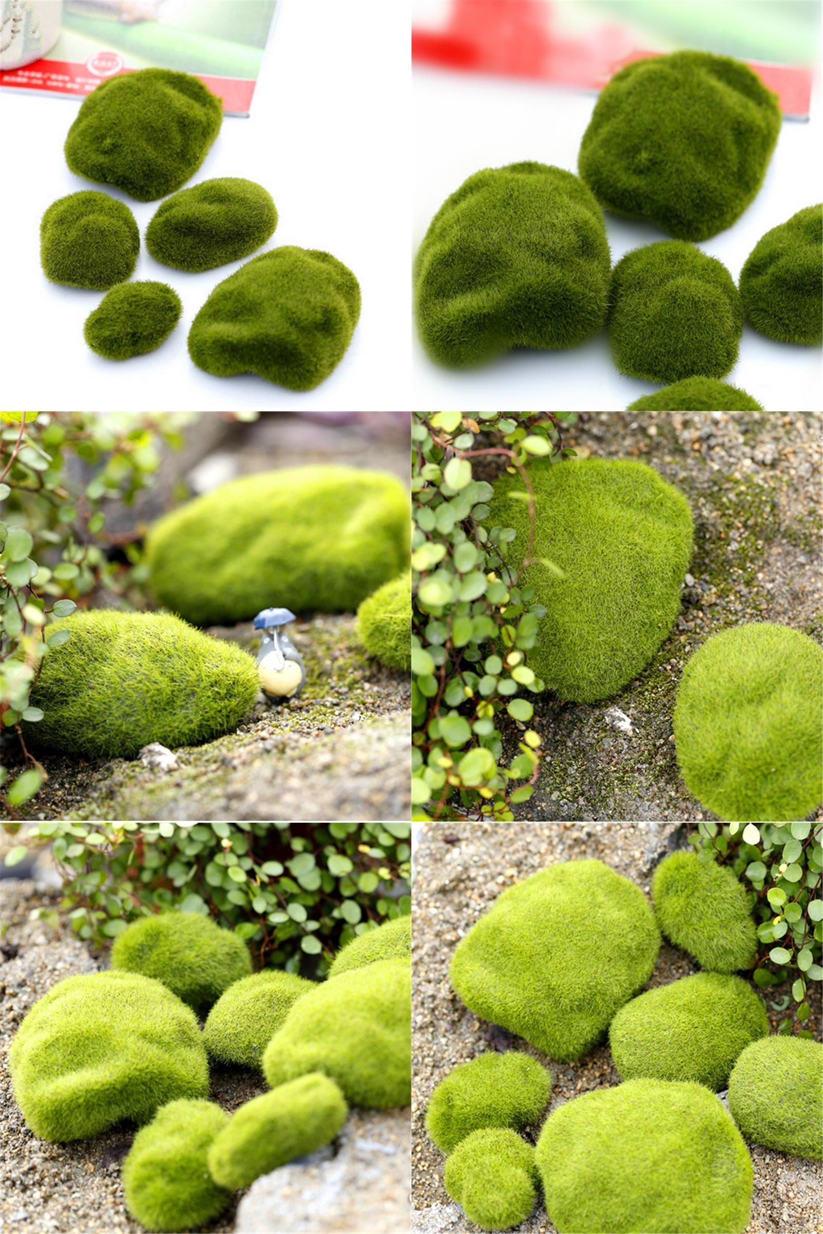 Garden decorations for sale -  Visit To Buy Hot Sale Miniature Fairy Garden Decorations Moss Craft Terrarium Figurines Artificial