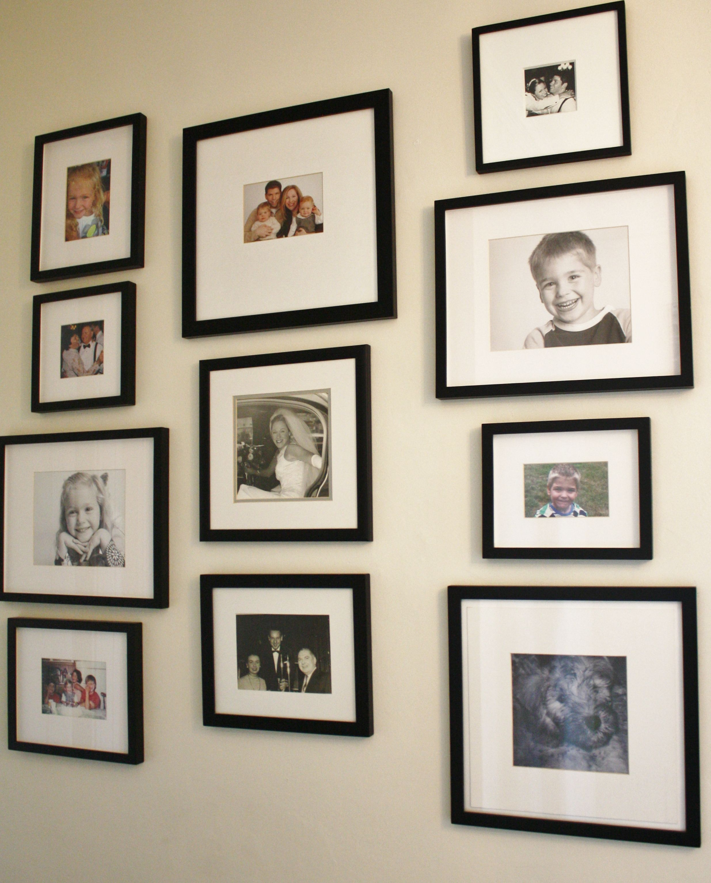 Lots of ideas for classy gallery walls gallery wall ideas