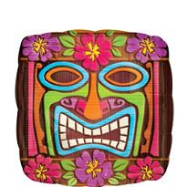 Tiki Balloon 16 1/2in x 16 1/2in - Party City