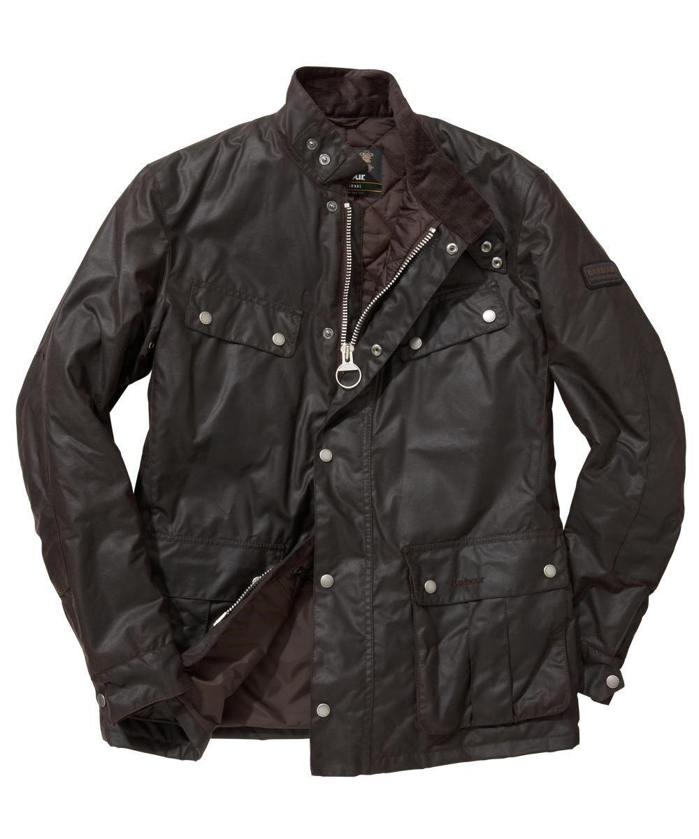 Men s Barbour International Duke Wax Jacket  534d3513ec75