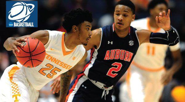 Auburn Tigers Vs Tennessee Volunteers Basketball Auburn