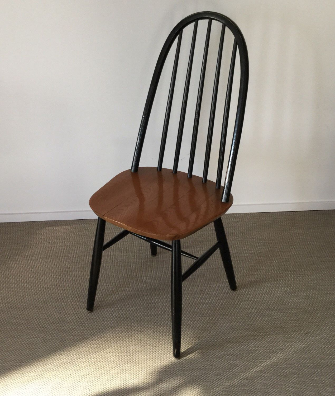 Mid century 50\'s 60\'s sprouts Chair Windsor Chair high back ...