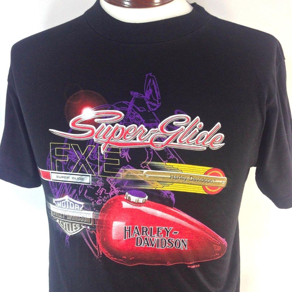 ***SOLD*** Harley Davidson T Shirt SUPERGLIDE Mansfield