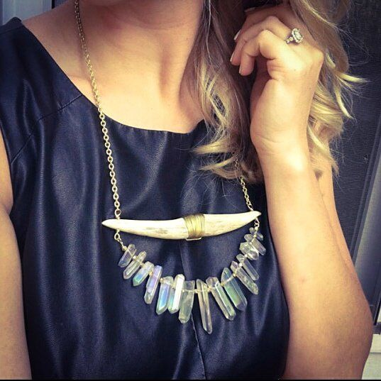 Starting out the day with an amazing customer pic from @mtgentry - Doesn't that necklace look stunning in her?