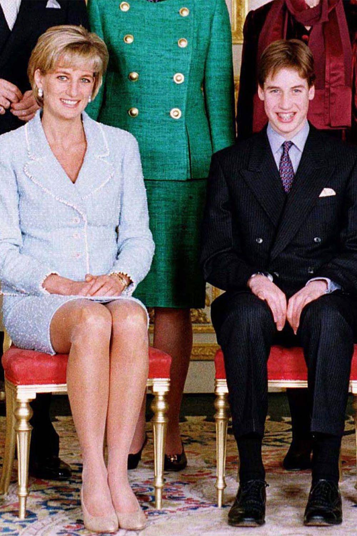 Prince William's Royal Life in Photos Princess diana