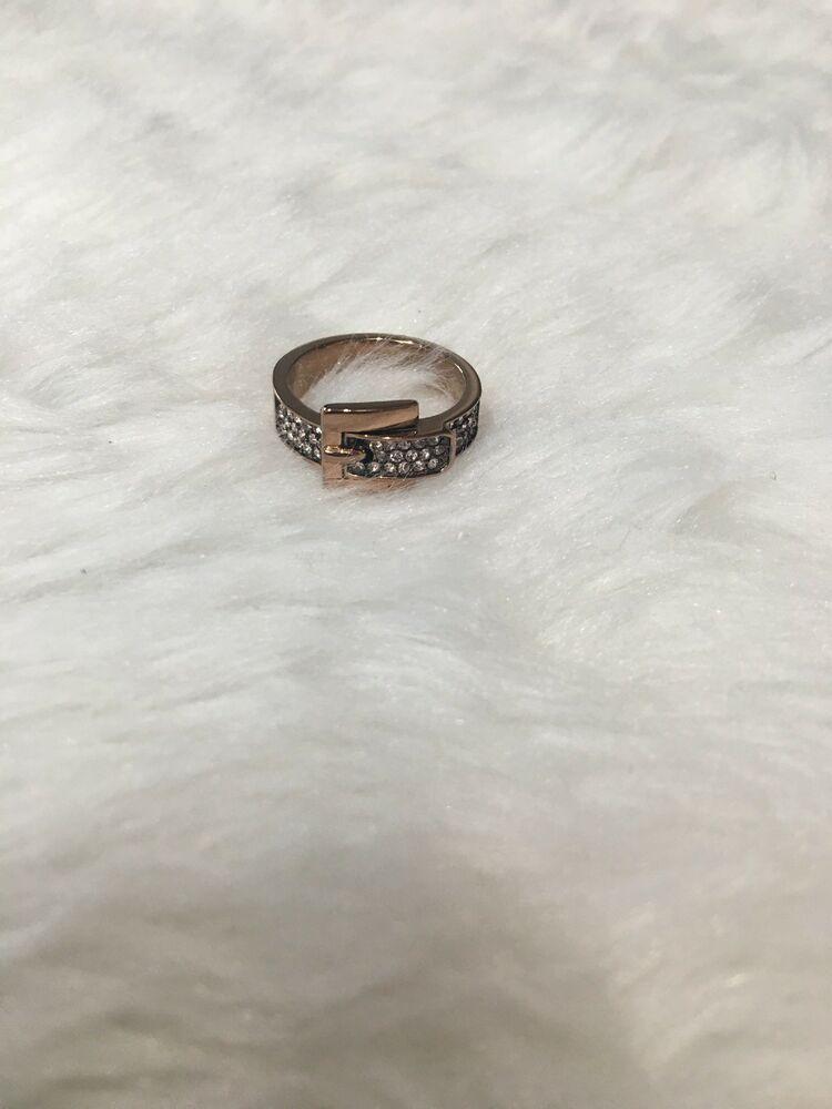 Michael Kors Rose Gold Ring Size 7 Fashion Clothing Shoes