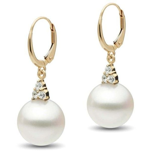 a87260345be7 Always Collection White South Sea 11.0-12.0 mm Pearl and Diamond...  ( 1