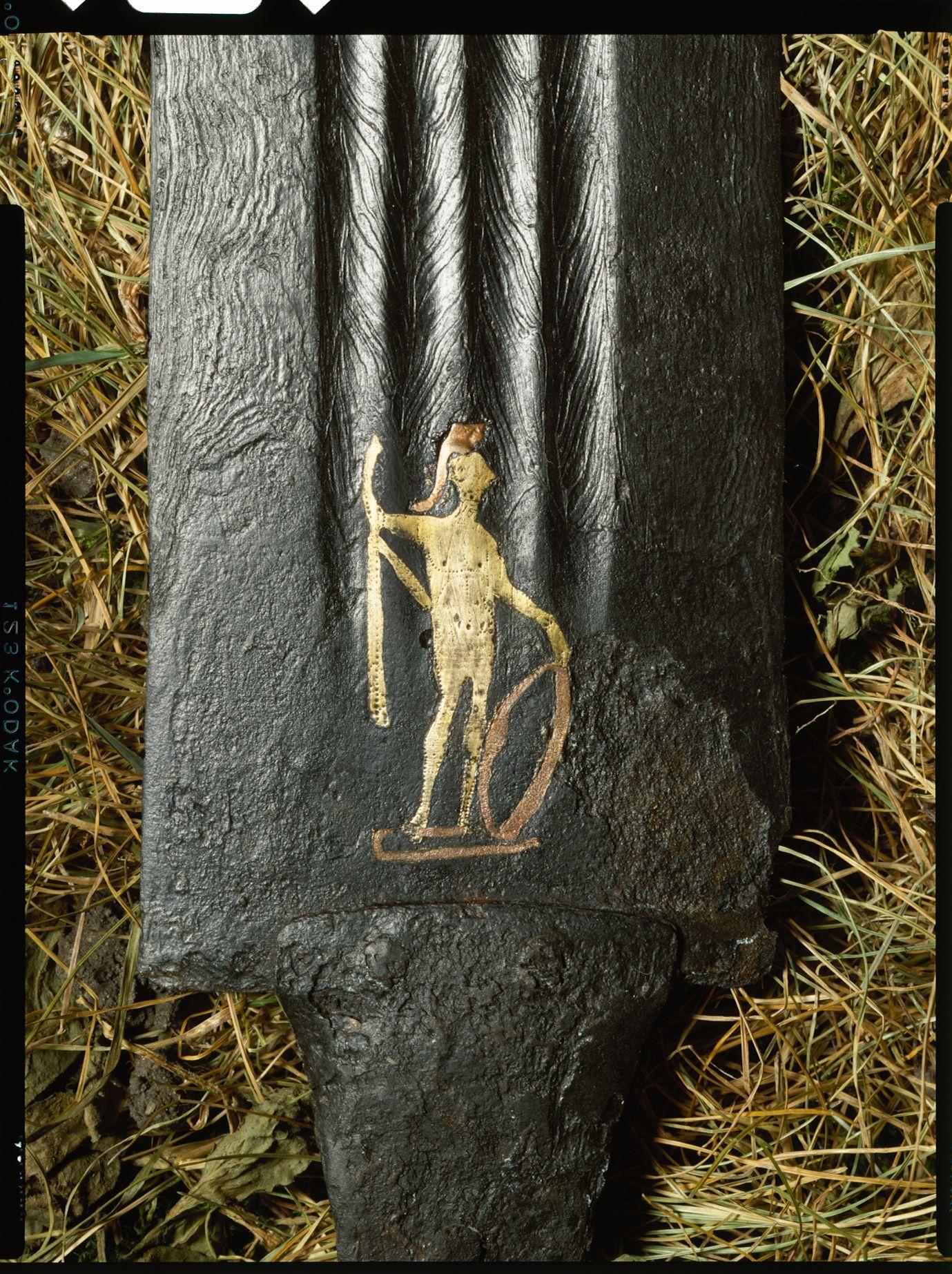Afbildning på sværd fra Illerup Ådal - Nationalmuseets Samlinger Online