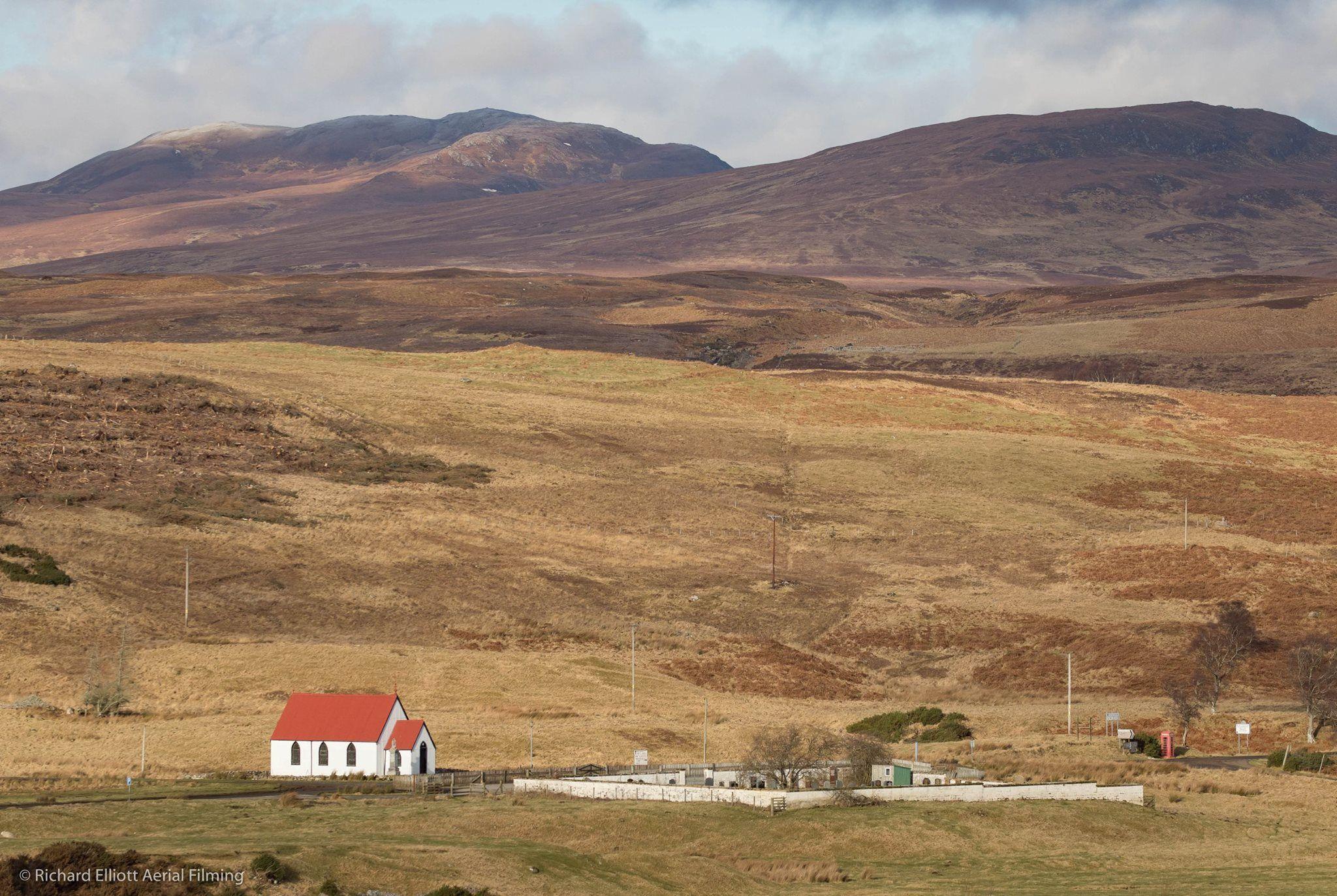 Syre Church Strathnaver In Northern Highlands Scotland Highlands Natural Landmarks Wonderful Places