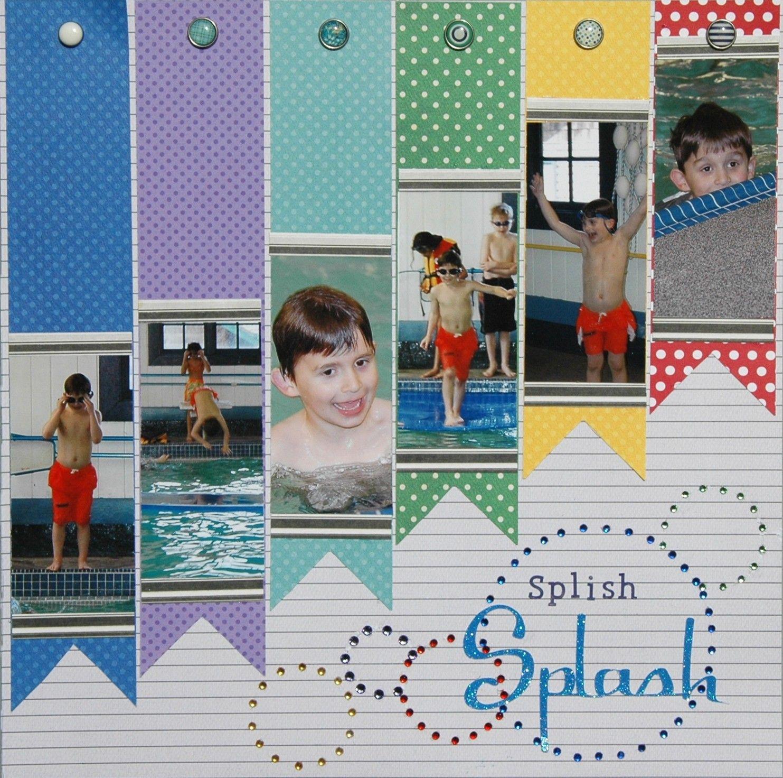 Scrapbook ideas words - Splish Splash Scrapbook Com