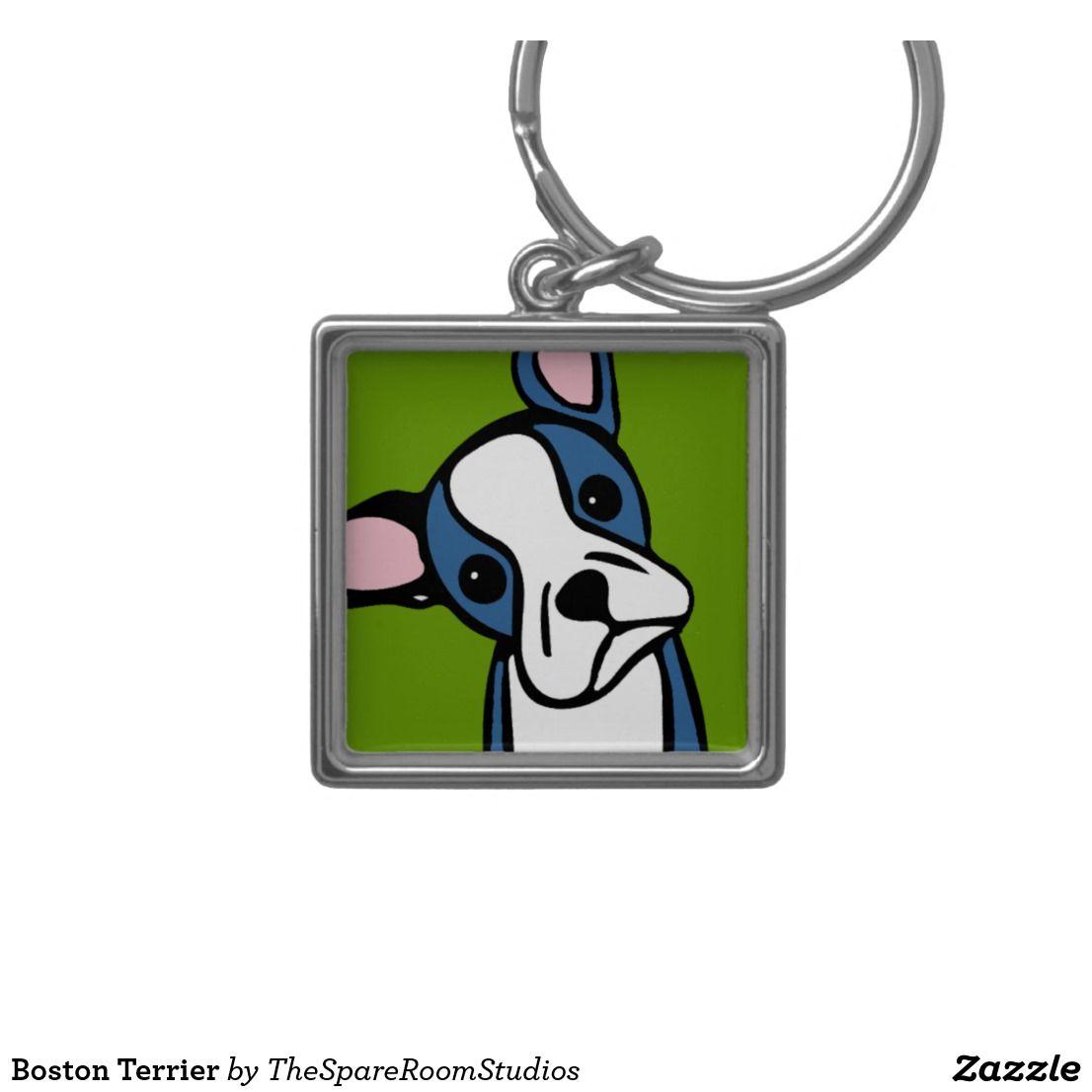 Boston terrier keychain boston terrier gift
