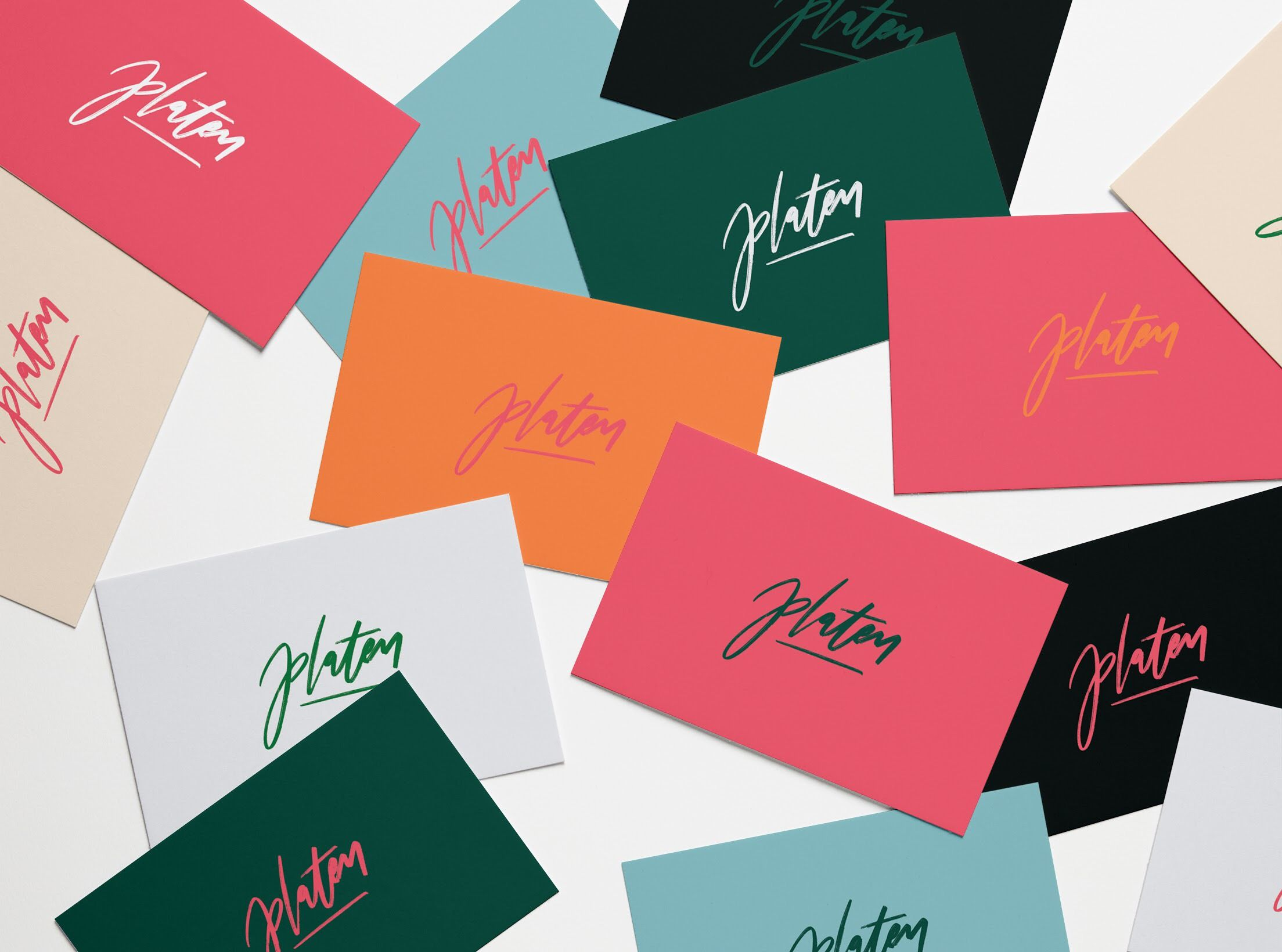 Platen Magazine Branding Business Card Design   Design   Pinterest ...
