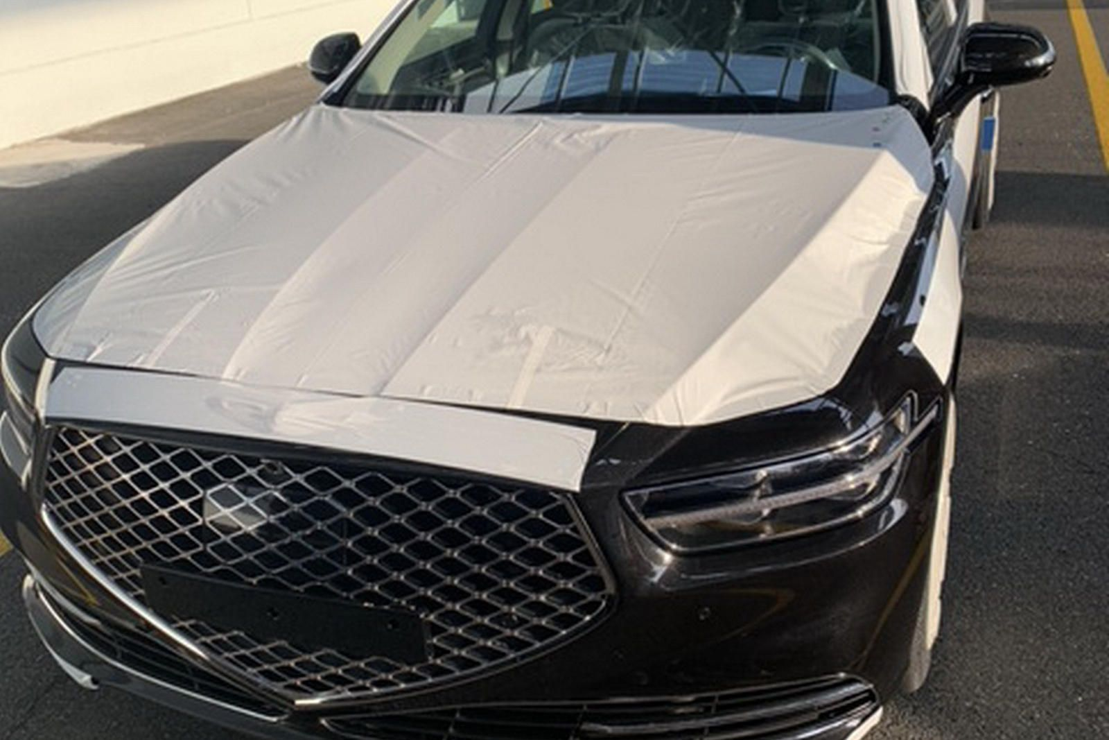 This Is 2020 Genesis G90 Before You're Supposed To See It
