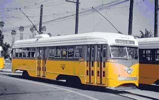 Los Angeles PCC Streetcar.