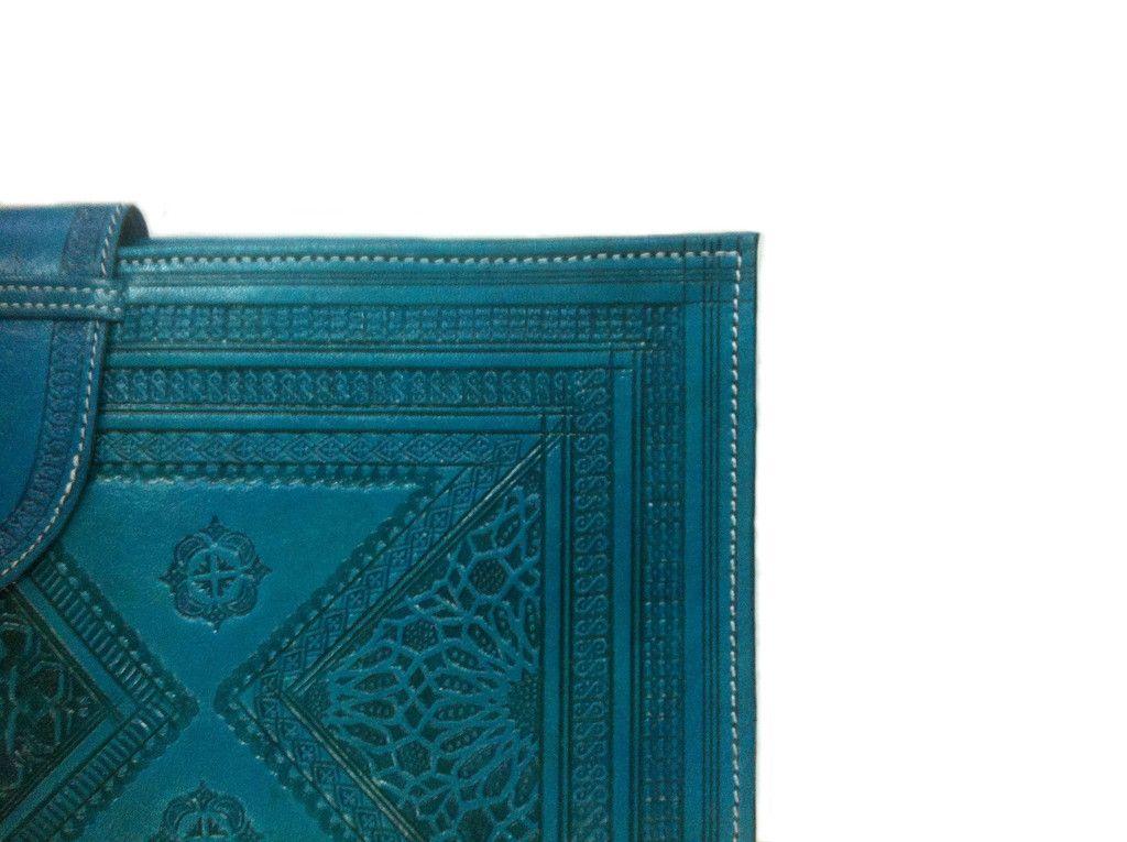 Heritage Turquoise Binder – Moroccan Corridor
