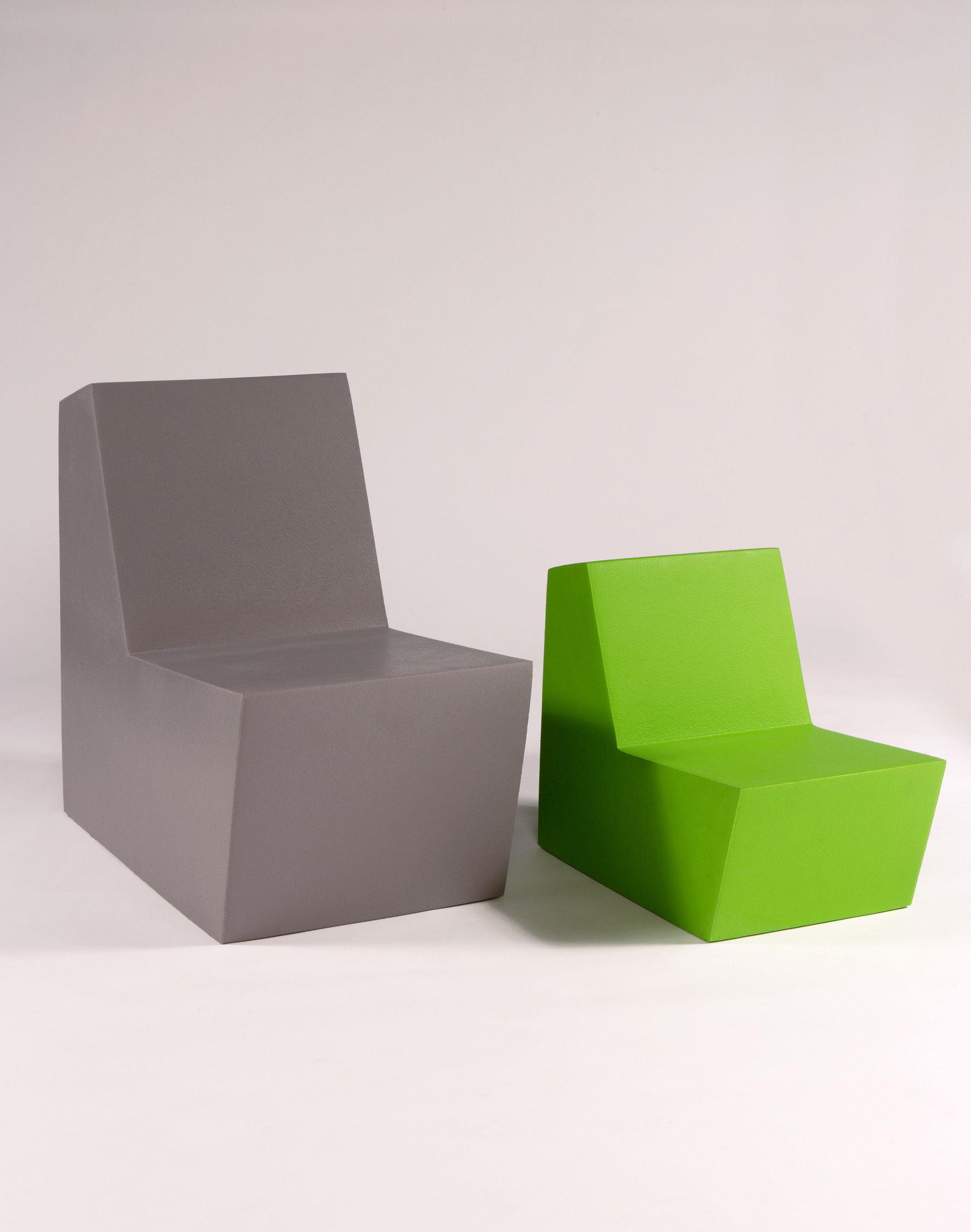 Quinze and Milan, sillones y poufs modelo MINUS + realizado en ...