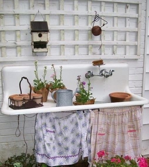 50 Best Potting Bench Ideas To Beautify Your Garden The Kitchen
