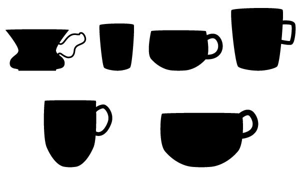 Vector Coffee Cup Silhouette Download Free Vector Art Coffee Cups Graphic Design Marketing Vector