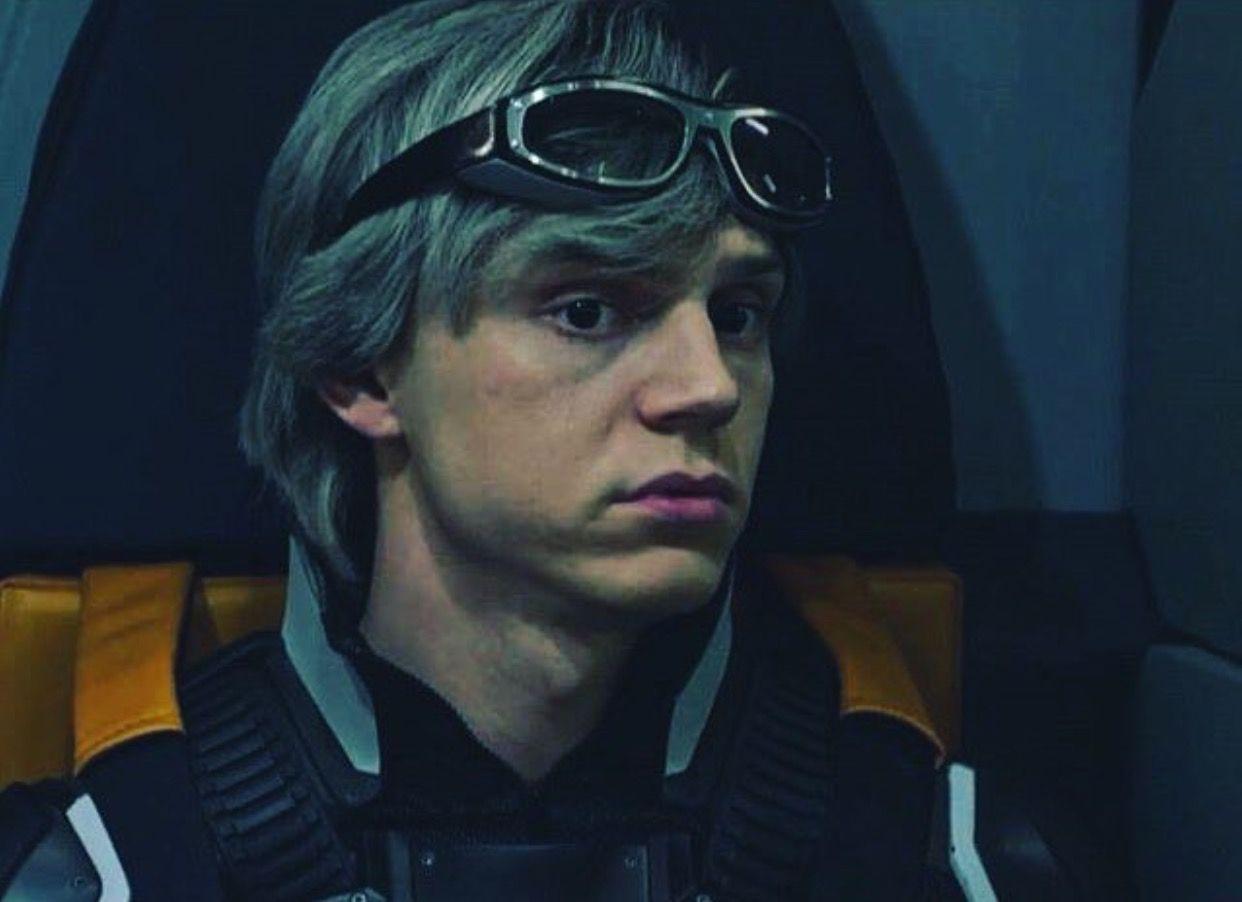 Evan Peters Quicksilver - X-men Apocalypse