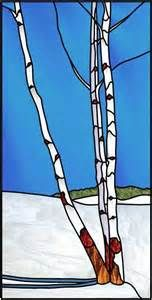 Arbres Boulot en hiver - Birch trees in winter by Manon Cayer https ...