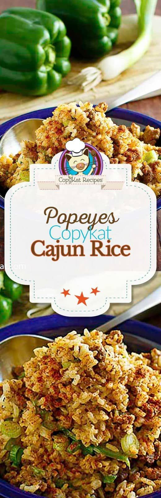 Copycat Popeyes Cajun Rice