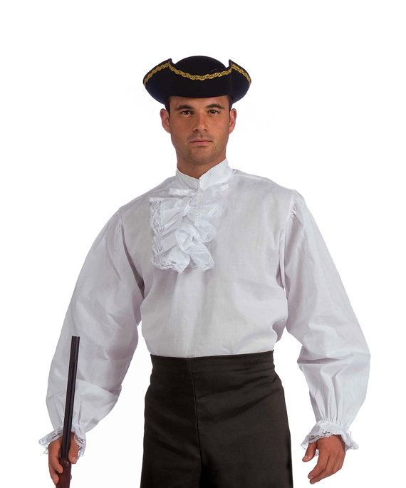 Adult Colonial, Pirate, Renaissance, Historical Reenactment Clothing