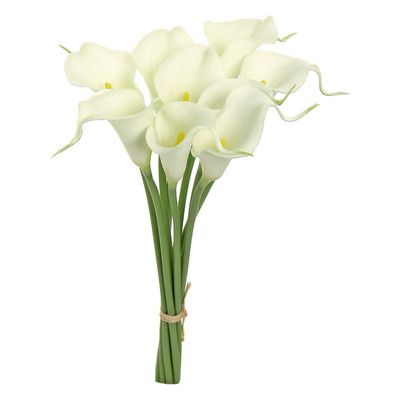 Artificial Calla Lilly Flower Silk Plant Branch Wedding Home Decorations