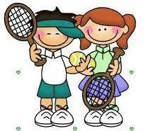 Two Children Playing Tennis Kids Clipart Clip Art Cute Clipart