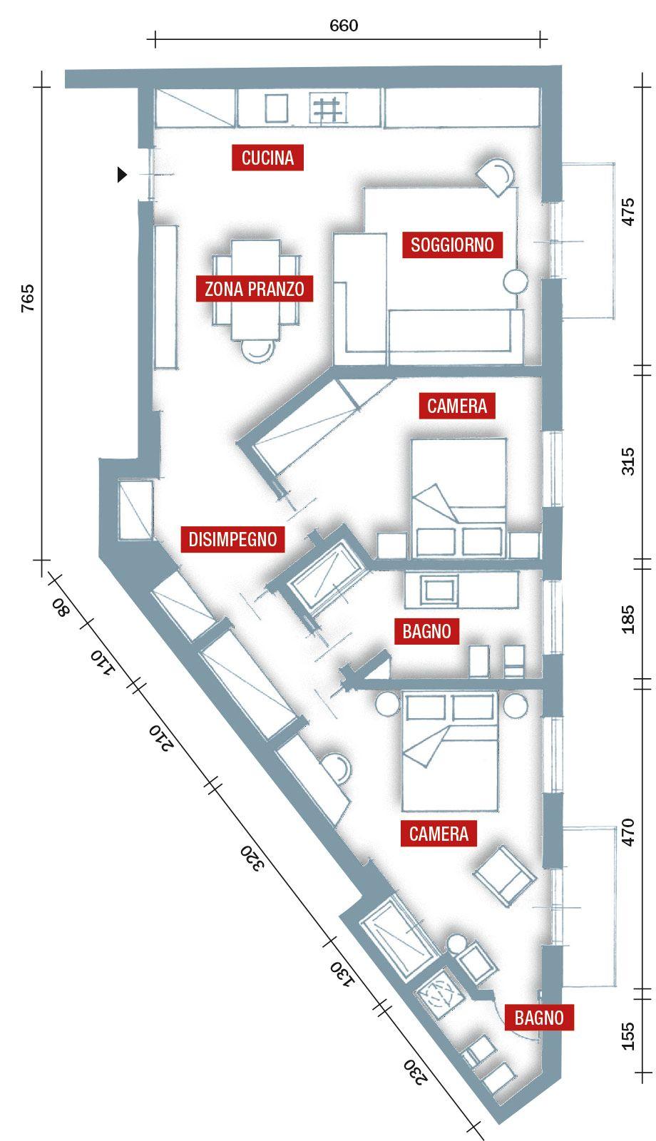 Progetto Casa 85 Mq 75 mq: 10 idee per far sembrare più grande la casa