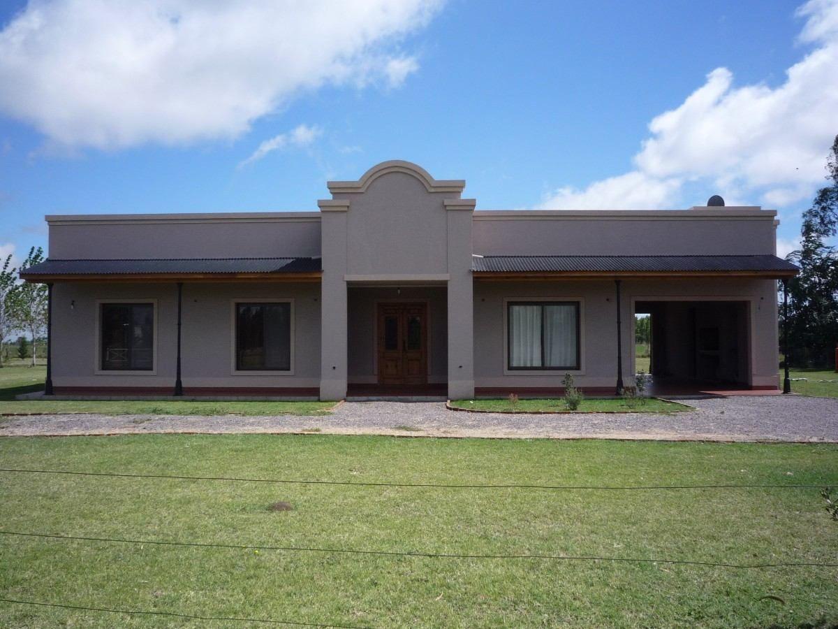 Casas estilo campo argentino buscar con google fachadas de casas pinterest casas estilo - Planos de casas de campo rusticas ...