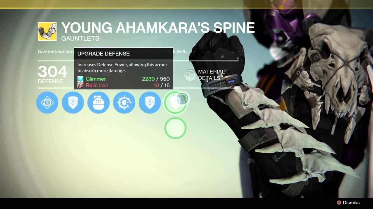 how to get the legendary gear in destiny