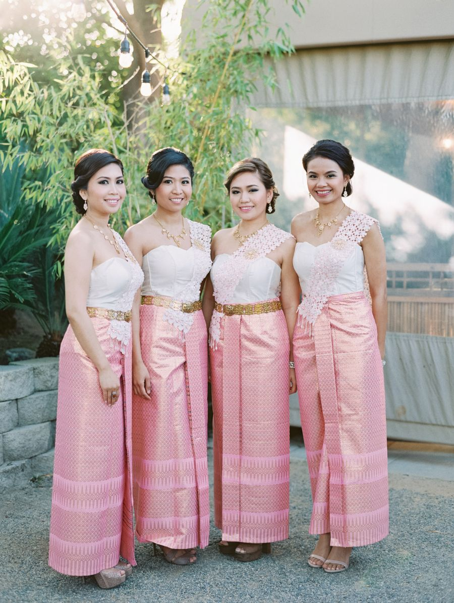 Five wardrobe changes for this cultural wedding en