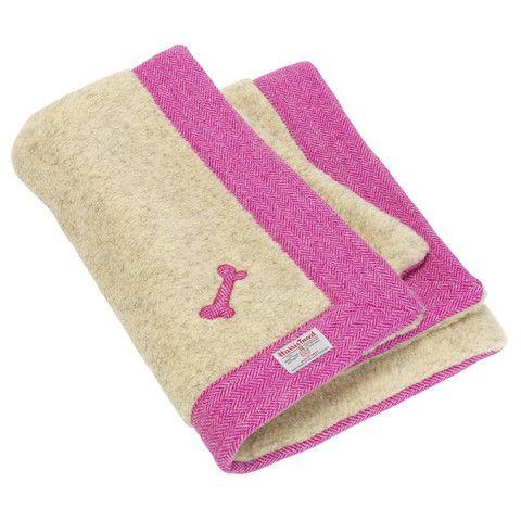 StyleTails | LoveMyDog Pixley Harris Tweed Dog Blanket #lovemydog #designer #tweed #dog #blanket
