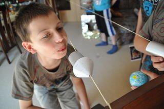Photo of Im Juni 2011 habe ich einen Weltraumgeburtstag vorbereitet. Das Geburtstagskind …