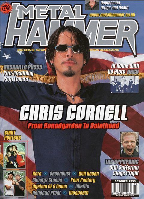 Chris Cornell On Metal Hammer October 1999 Chris Cornell Chris