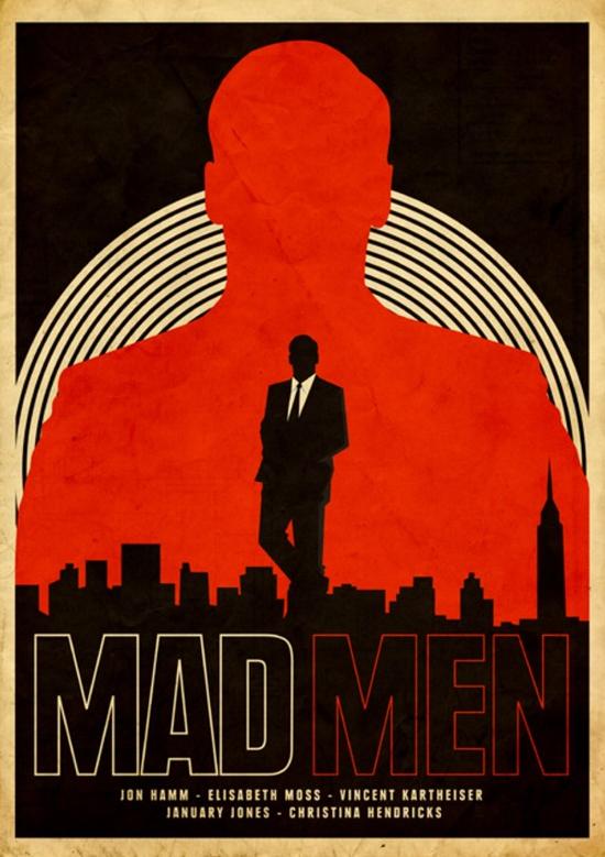 Draper's namesake. Mad men poster