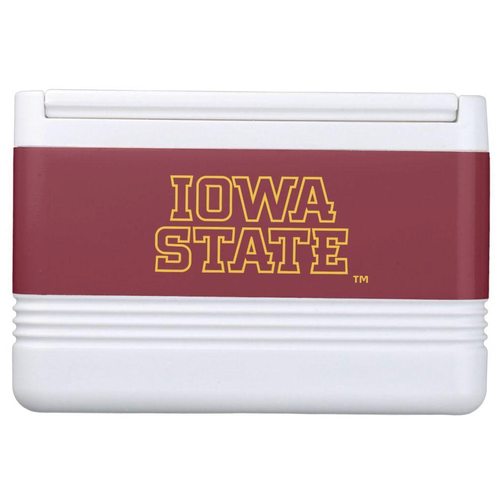 Iowa State University | Block Design Cooler | Zazzle.com