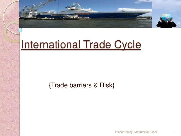 http://www.slideshare.net/zubaman/international-trade-cycle  A slide show on the international business cycle.