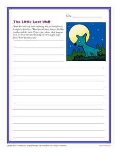 The Little Lost Wolf | Wolves, Lost and Writing prompts