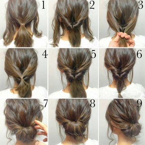 Tutoriel Facile Coiffure Mariage Invitee Coiffure Facile Idee Coiffure Cheveux Court Coiffures Simples