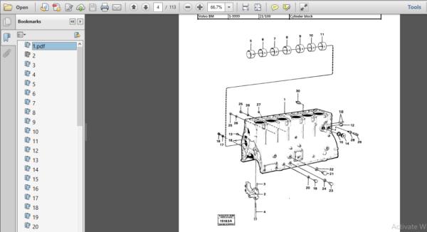 Volvo Bm 4400 Wheel Loader Service Parts Catalogue Manual Instant Download Pdf Download In 2020 Instant Download Pdf Parts Catalog Pdf Download
