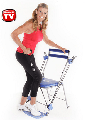Chair Gym As Seen On Tv 2013 Resistance Workout Chair