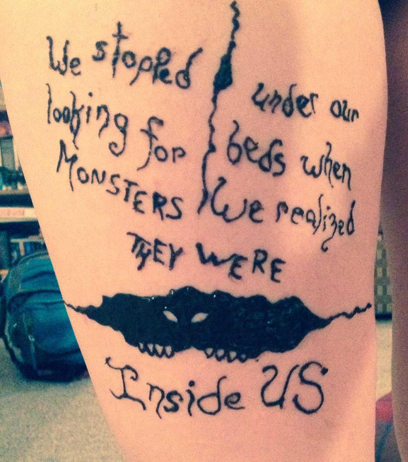 Henna Tattoo, Quote By The Joker
