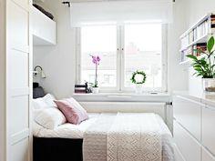 Woonkamer Naast Slaapkamer : Klein behuisd tips om een kleine slaapkamer in te richten van