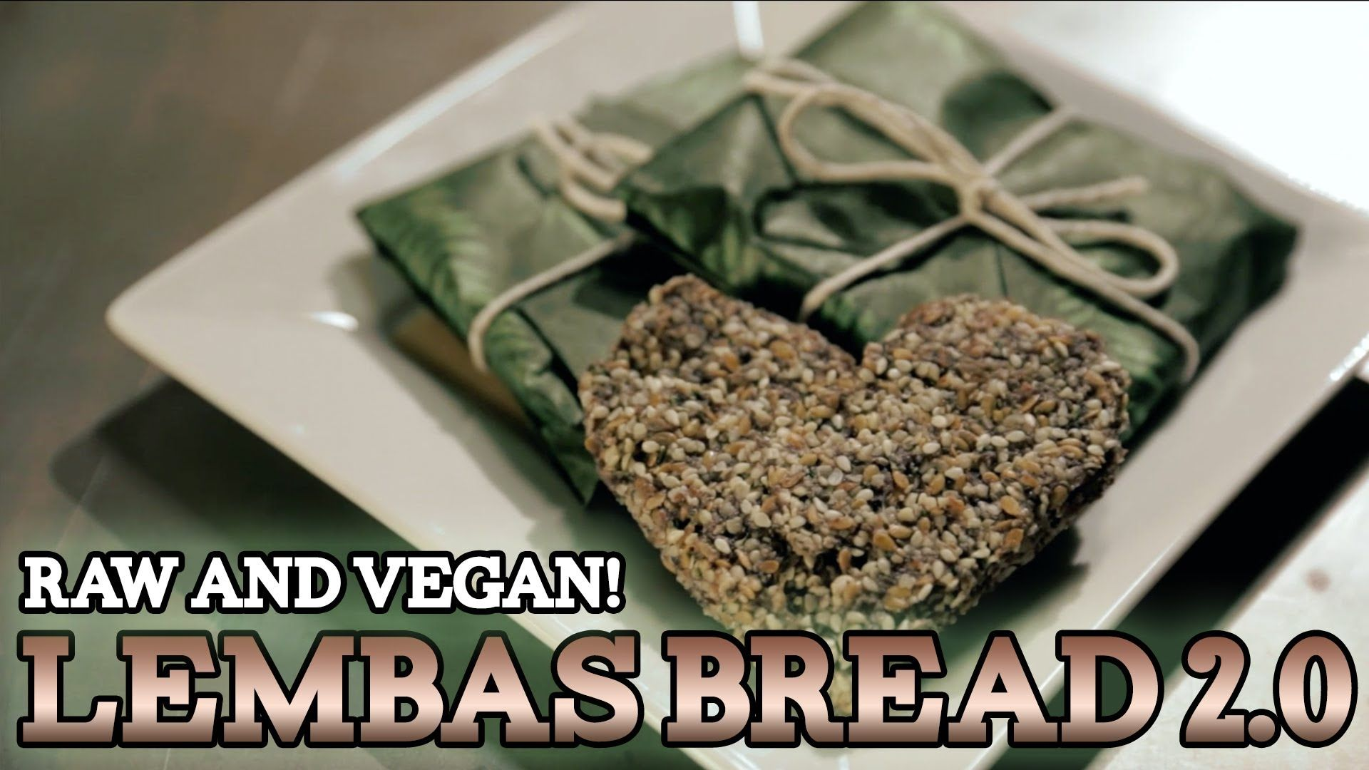 Lembas Bread 2 0 Raw Vegan The Lord Of The Rings Feast Of