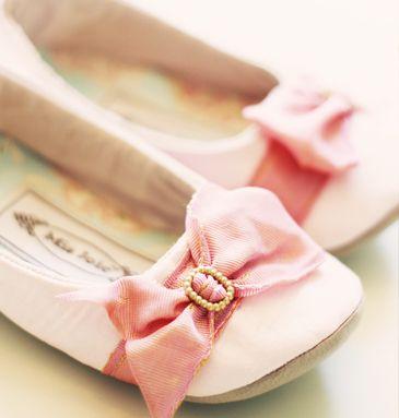 Marie antoinette little pink satin ballet flats $34.00