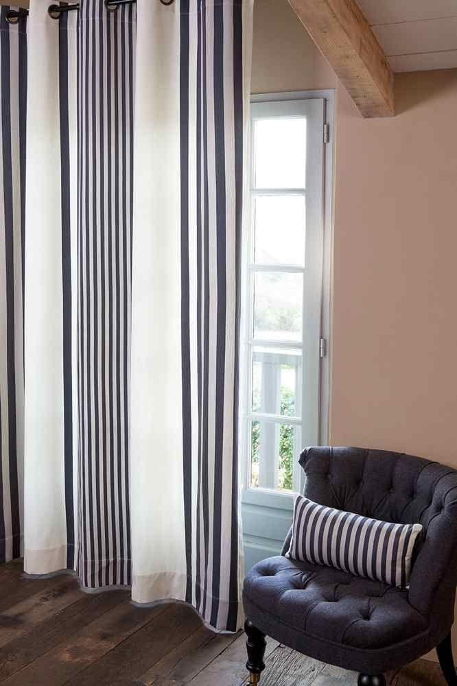 rideau et coussin jean vier ainhoa r glisse rideaux pr t poser coussins et accessoires. Black Bedroom Furniture Sets. Home Design Ideas
